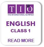 International English Olympiad Syllabus Class 1