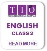 International English Olympiad Syllabus Class 2