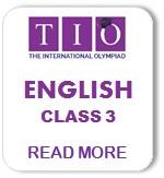 International English Olympiad Syllabus Class 3