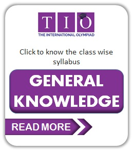 TIO International General Knowledge Olympiad Class 1 to 10 Syllabus