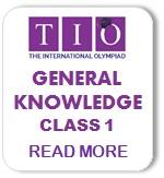 International General Knowledge Olympiad Syllabus Class 1