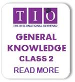 International General Knowledge Olympiad Syllabus Class 2
