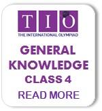 International General Knowledge Olympiad Syllabus Class 4