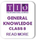 International General Knowledge Olympiad Syllabus Class 8