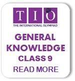 International General Knowledge Olympiad Syllabus Class 9